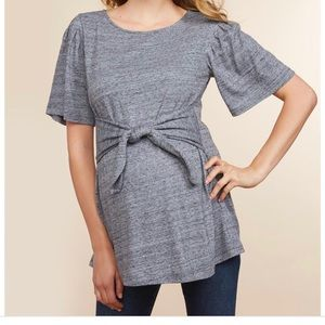 Jessica Simpson | Front Tie Maternity Top